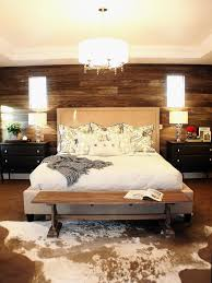 bedroom ceiling lights ideas slab headboard and exposed beam