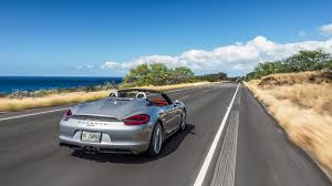 porsche boxster spyder 2016 2016 porsche boxster spyder review and test drive with horsepower