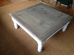gray wash coffee table ideal for living room beautiful white