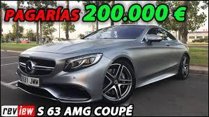 mercedes espa l mercedes s63 amg coupé review en español prueba supercars of