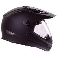 matte black motocross helmet amazon com flat black dual sport atv utv motocross street bike