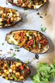 israeli cous cous stuffed eggplant vegan c it nutritionally