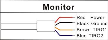 digital wireless forklift camera monitor kit