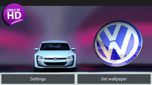 volkswagen logo png 3d volkswagen logo lwp for android free download on mobomarket