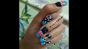 how to apply new nail polish nail art design for beginner 2017