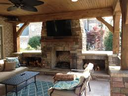 Outdoor Fieldstone Fireplace - interior stone fireplace design charlotte nc masters stone group