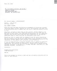 Legal Collection Letter by Brian Kelly U0027s Blog Courtesy Notice Success Story 32 194 Loan