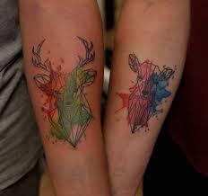 creative couple tattoos that celebrate love u0027s eternal bond