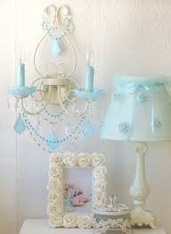 Double Light Wall Sconce Double Light Wall Sconce With Opal Aqua Blue Crystals
