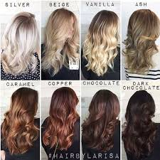 hair color chart one of our fave color charts of all time by larisadoll