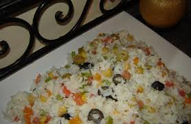cuisine salade de riz salade de riz au thon choumicha cuisine marocaine choumicha