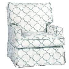 swivel glide chair lydia slipcovered swivel glider chair rosenberryrooms