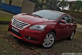 nissan sylphy price test drive review nissan sylphy 1 8 vl lowyat net cars