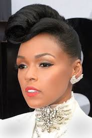 pictures of french rolls hairstyles for black women 2015 janelle monae beautiful french roll black women natural hairstyles