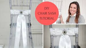chair sash ideas chair sash ideas chair sash diy chair sash tutorial