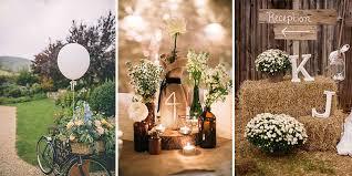 rustic wedding 27 rustic wedding decoration ideas