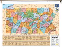 New York Political Map by Pennsylvania Political Map Missouri Map
