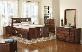 Bookcase Bed Queen Trendwood Laguna Bookcase Bed Complete American Chestnut