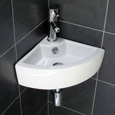 tiny bathroom sink ideas elite sinks ec9808 porcelain wall mounted corner sink white within