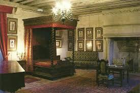 chambre hote chateau loire chambre au lit a baldaquin photo de château de chémery vallée