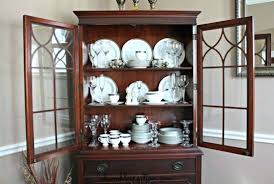 display china cabinets furniture how to display china 4 amazing tips to decorate your china cabinet