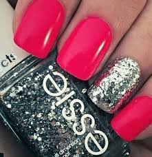 pink glitter nails pictures photos and images for facebook