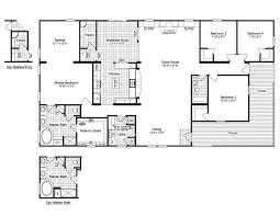 four bedroom ranch house plans ranch house floor plans with wrap around porch