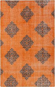 Orange Area Rug Wonderful Zahra Area Rug 2x3 Contemporary Rugs Buyarearugs