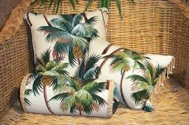 Tropical Upholstery Upholstery Weight Barkcloth Collection