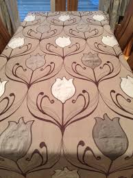 dunelm mill chocolate lalique curtains in dunfermline fife