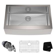 Stainless Steel Kitchen Sinks Kitchen The Home Depot - Kitchen basin sinks