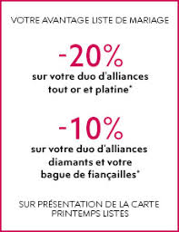 printemps liste de mariage collection alliances printemps joaillier
