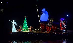 boat parade eiffel towers light up san diego bay times of san diego