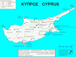 map of cyprus maps of cyprus
