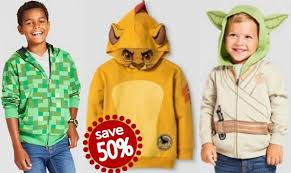 get 50 off boys character hoodies at target both online u0026 in