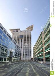 business district with modern buildings in rome italy stock photo