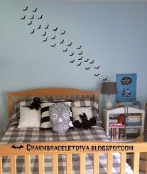 our hopeful home teen halloween bedroom and free bat template