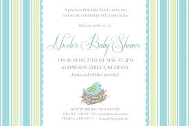 photo baby shower card messages image