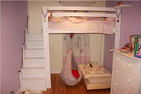 Cute Beds For Girls by Bunk Bed For Girls Arch Headboard Simply Purple Rug Wooden Open