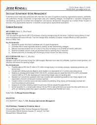 Production Manager Resume Sample Store Associate Resume Sample Template For Retail Manager Sales
