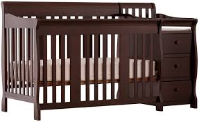 Convertible Crib Changing Table Stork Craft Portofino 4 In 1 Fixed Side Convertible