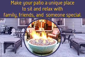 Patio With Firepit Comfy Patio Designs With A Fire Pit To Help You Relax In Style