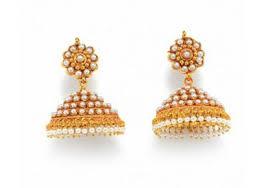 kerala style jhumka earrings pearl jhumka style earring kerala news kerala breaking