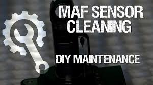 how to clean mass air flow sensor on fj cruiser youtube