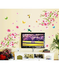 169 Best Wall Decals Images by Stickerskart Flowers U0026 Trees Pvc Wall Stickers Buy Stickerskart