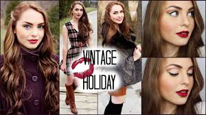 hair and makeup vintage vintage hair makeup outfits for the holidays jackie wyers
