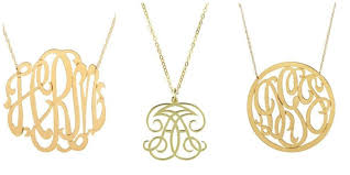 monogram jewelry cheap gift guide monogram jewelry lover the sarcastic
