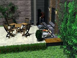 patio ideas outdoor patio waterfalls small rectangle backyard
