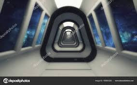 futuristic interior design 3d rendering futuristic interior design background u2014 stock photo