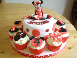 Red Minnie Mouse Cake Decorations Minnie Mouse Cakes U2013 Decoration Ideas Little Birthday Cakes